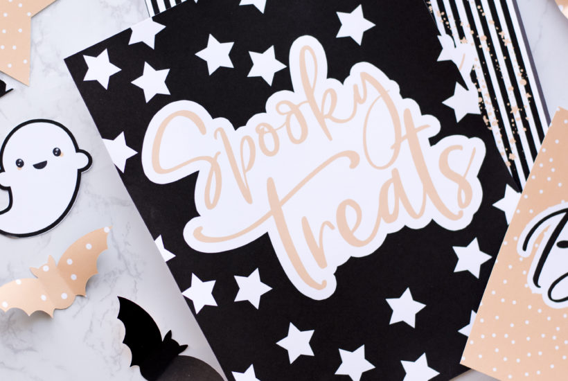 Small and Simple Printables Halloween Collection